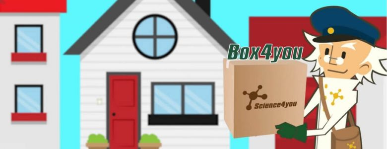 Box4you serviço de subscrição de brinquedos ao domicílio science4you