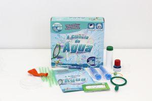 conteúdo do kit - A Ciência da Água