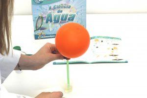 o balão no frasco - A Ciência da Água