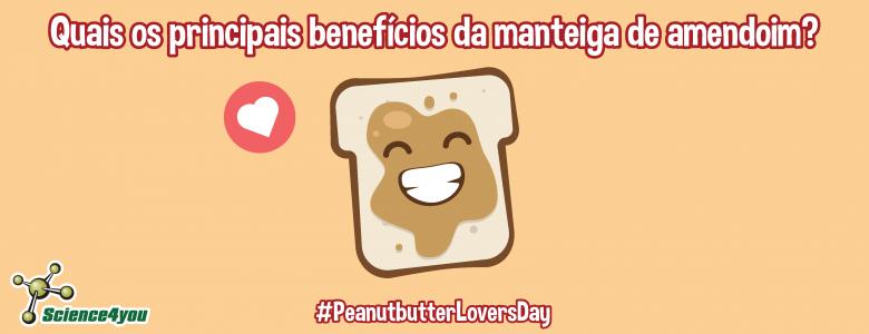 benefícios manteiga de amendoim
