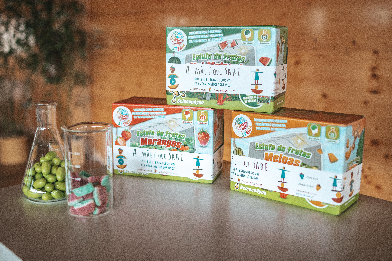 Embalagem do Produto Ecológico e Científico no Zmar Eco Experience